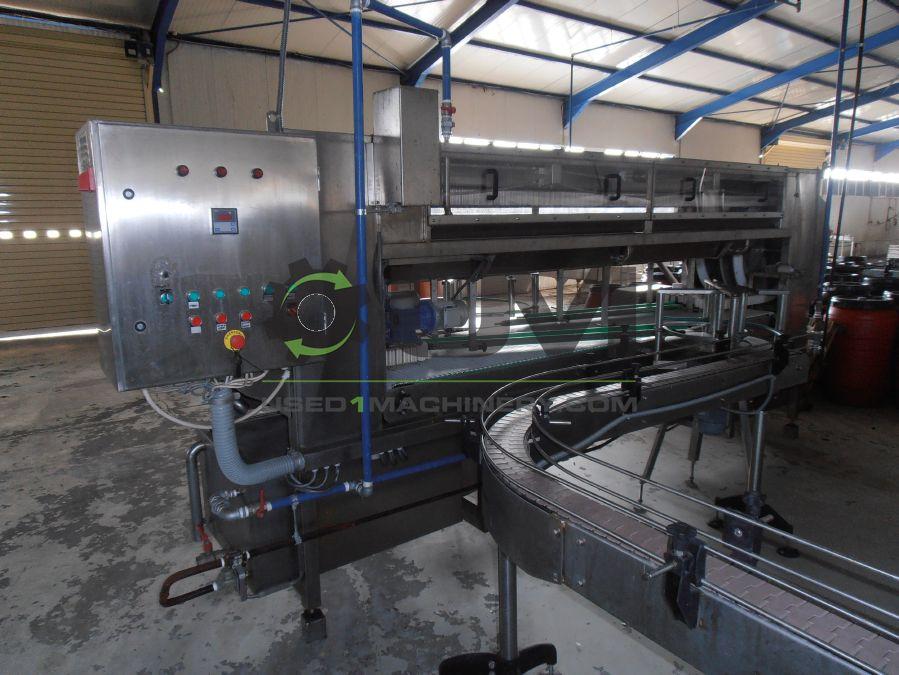 Μεταχειρισμένο Βιομηχανικό Πλυντήριο καθαρισμού κενών βάζων ή κυτίων